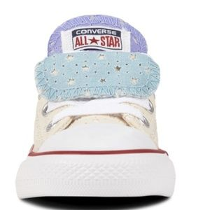 Converse All Star Double Tongue Sneakers  NWOT